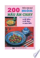 200 món ná̂u ăn chay
