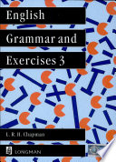 English Grammar And Exercises 3 Book Cover