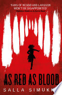 As Red As Blood Book Cover