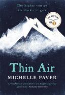 Thin Air Book Cover