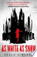 As White As Snow Book Cover